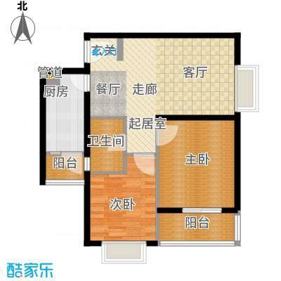 佳龙大沃城78.04㎡佳龙・大沃城11#楼B户型