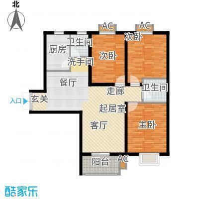中环国际城73.79㎡2号楼H户型