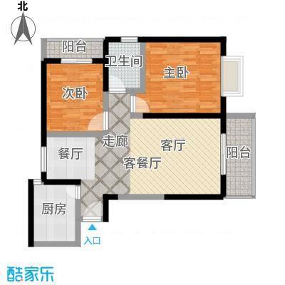 颐和盛世91.38㎡18号楼D1户型