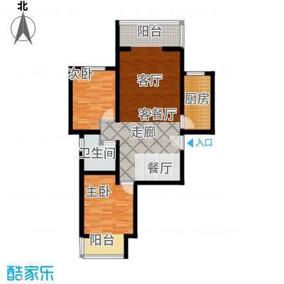 颐和盛世94.62㎡65#楼K2户型