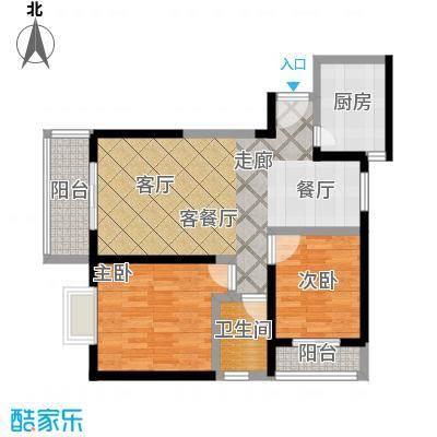 颐和盛世91.20㎡18号楼D户型