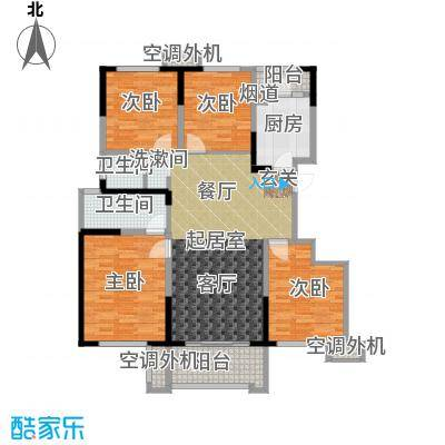 合能十里锦绣119.00㎡洋房23/29/30/31#楼B1户型
