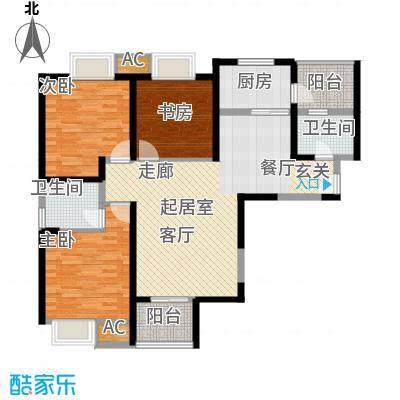龙湖香醍国际社区120.00㎡A户型