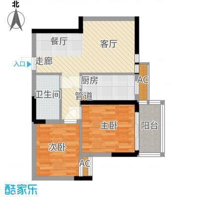 大唐新干线70.00㎡D户型