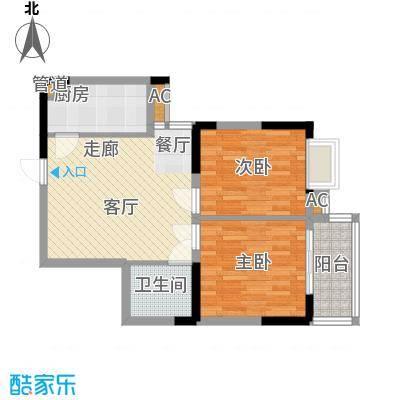 大唐新干线74.07㎡K户型