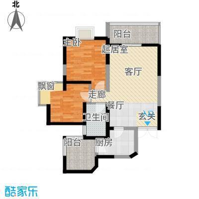 宇宏健康花城86.76㎡宇宏・健康花城16-23#A户型