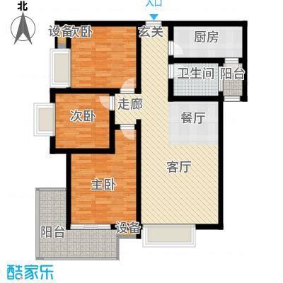 曲江诸子阶105.00㎡17、18、19#C6户型