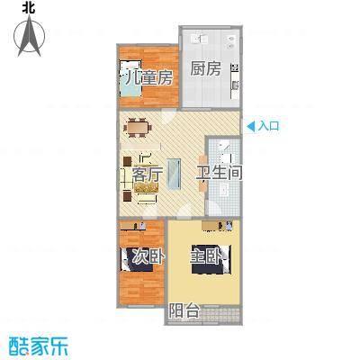 三室一厅一卫