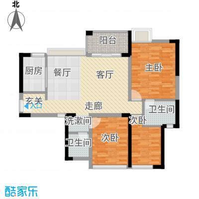 东莞金悦香树98平三房两厅两卫