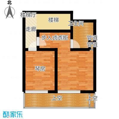 曲江风景线118.21㎡F3二层示意图户型