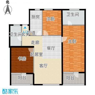 瑞江花园兰苑218.00㎡面积21800m户型