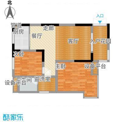 高新锦绣苑D2户型