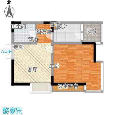 高新锦绣苑D1户型