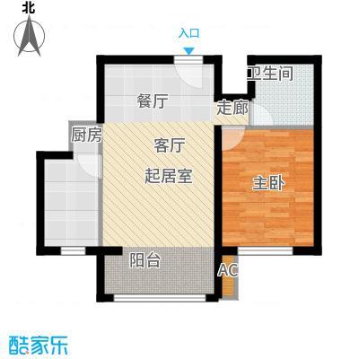 瑞江花园兰苑57.00㎡面积5700m户型