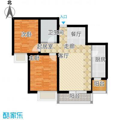 融科贻锦台99.00㎡精萃高层标准面积9900m户型