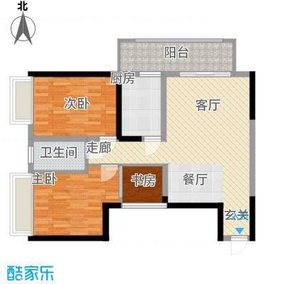 长安大街三号95.75㎡G-02/0508/11户型