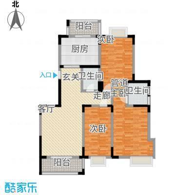 虹畔馨苑144.24㎡面积14424m户型