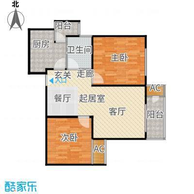融尚中央住区79.00㎡融尚・中央住区7#楼C4户型