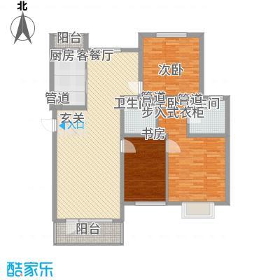仁爱濠景庄园55.00㎡面积5500m户型