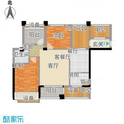 湘腾商业广场99.00㎡铭城面积9900m户型
