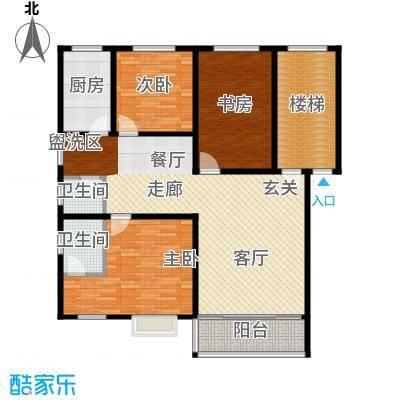 雅泰家园117.59㎡C面积11759m户型