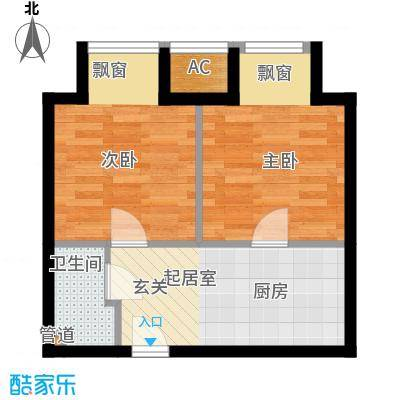 青年公寓一户型