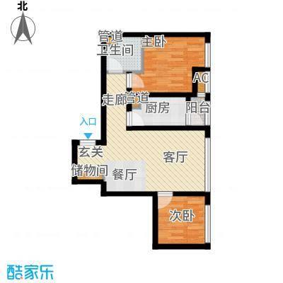 海河金湾公寓2-g(1)户型
