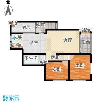 海河金湾公寓2-e(2)户型