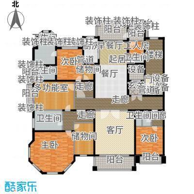 荣禾曲池东岸361.00㎡皇廷2户型