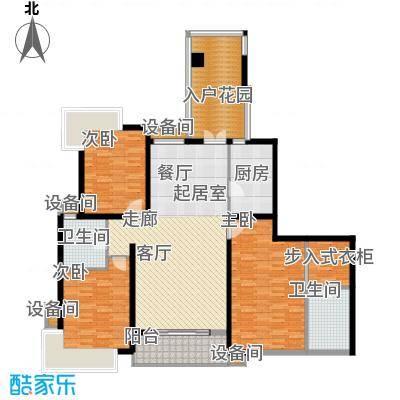 湘江世纪城赏江苑152.00㎡面积15200m户型