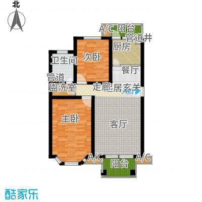 凤溪花中城97.99㎡B1面积9799m户型