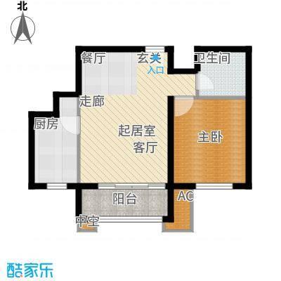 纯美公寓115.00㎡1面积11500m户型