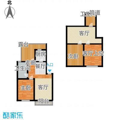海天馨苑惠君园82.72㎡BHouse面积8272m户型