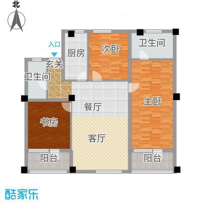 瑞江花园竹苑218.00㎡面积21800m户型