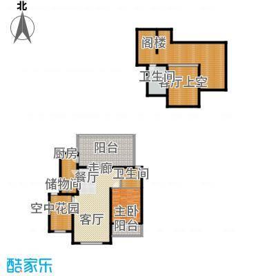 海天馨苑惠君园98.54㎡UHouse面积9854m户型
