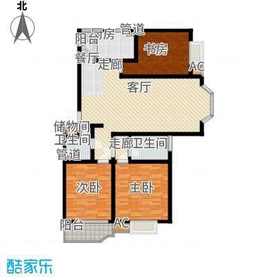 海天馨苑惠君园126.24㎡HHouse面积12624m户型