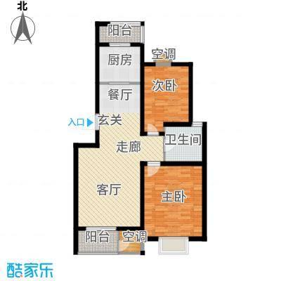 瑞康家园125.00㎡1面积12500m户型
