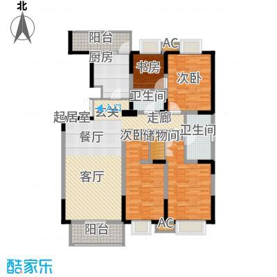 天江格调兰庭155.33㎡面积15533m户型