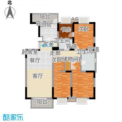 天江格调兰庭149.08㎡面积14908m户型