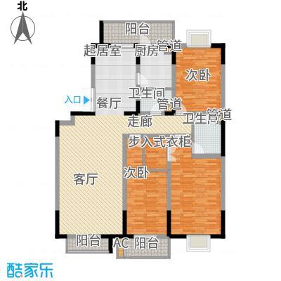 天江格调兰庭162.79㎡面积16279m户型