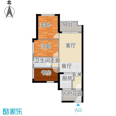 金域松湖96平三房两厅一卫