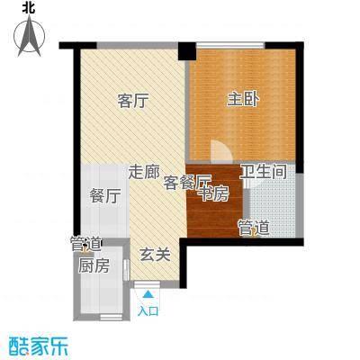 仁恒海河广场90.81㎡一期2号楼1面积9081m户型