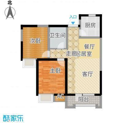 融科贻锦台98.00㎡精萃高层标准面积9800m户型