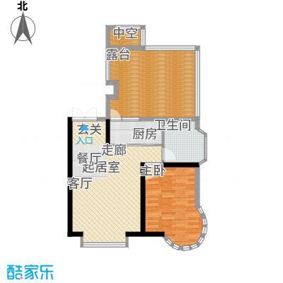 天江格调花园69.47㎡面积6947m户型