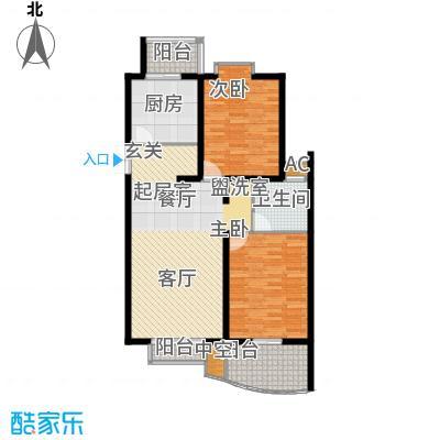 天江格调花园108.96㎡面积10896m户型
