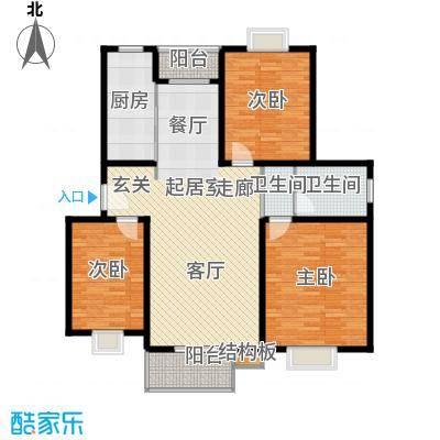 太阳城丹荔园139.00㎡面积13900m户型