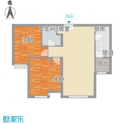 富力津门湖观鹭花园122.00㎡面积12200m户型