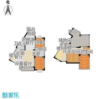 名仕达花园219.64㎡二期D房型(期面积21964m户型