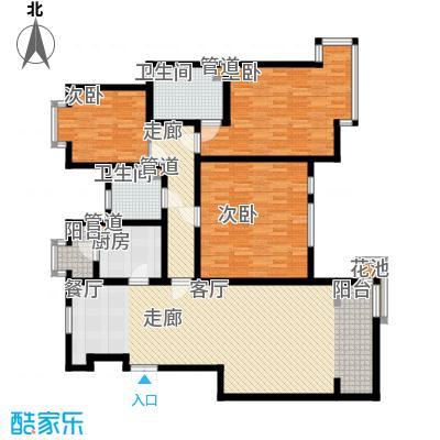 华夏津典泉水园3户型