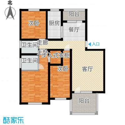 华夏津典泉水园174.00㎡面积17400m户型